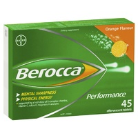 Berocca Effervescent Performance Orange 45 Tablets