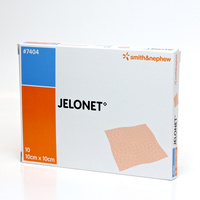 Jelonet Paraffin Gauze Dressings 10 x 10cm 10