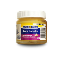 Gold Cross Anhydrous Lanolin (Wool Fat) 50g