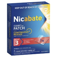 Nicabate 7mg Clear Patches 7