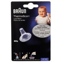 Braun Thermoscan Lens Filters 40