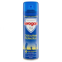 Aerogard Odourless Protection Low Irritant Aerosol 150g