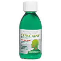 Cepacaine Mouth Wash Solution 200mL