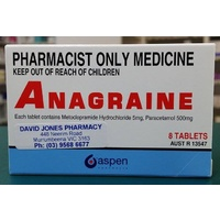 Anagraine 8 Tablets