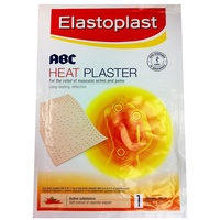 Elastoplast ABC Heat Plaster 22cm x 14cm | 1 Dermal Patch