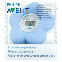 AVENT Baby Digital Bath and Room Thermometer (Blue)