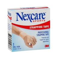 Nexcare Sports Strapping Tape 25mm x 13.7m - 1 Roll