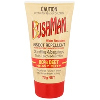 Bushman Heavy Duty 80% Deet Insect Repellent 75g