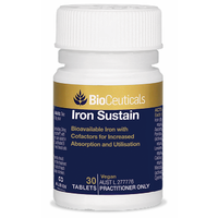 Bioceuticals Iron Sustain Tablets 30