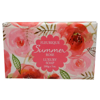Fleurique Luxury Soap Rose 200g