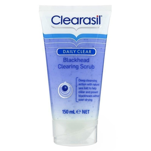 Clearasil Blackhead Control Clearing Scrub 150mL