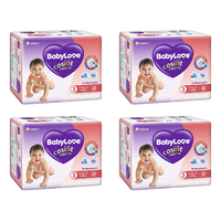 BabyLove Cosifit Crawlers Convenience Nappies 22 Pack [Bulk Buy 4 Units]