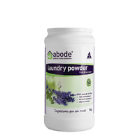 Abode Laundry Powder (Front Top) Wild Lavender and Mint 1kg