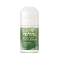 Body Crystal Crystal Roll On Deodorant Botanica 80ml