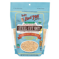 Bob's Red Mill Organic Steel Cut Oats (whole grain) 680g