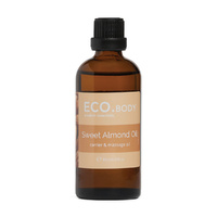 Eco Modern Essentials Body Oil (Carrier & Massage) Sweet Almond 95ml