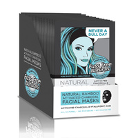 Ess Facial Mask Activated Charcoal Hyaluronic Acid x1pk x12D