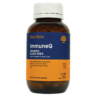 Hab Shifa ImmuneQ Organic Black Seed with Vitamin C & Zinc 120 Tablets