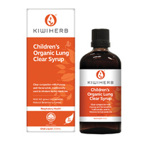 KiwiHerb Children's Organic Lung Clear Syrup 200ml