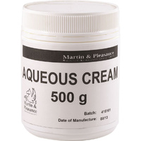 Martin & Pleasance Aqueous Cream 500g