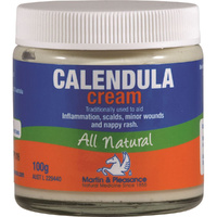 Martin & Pleasance All Natural Cream Calendula 100g