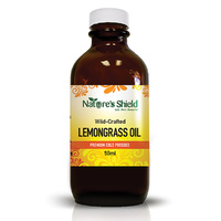 Nature's Shield Wild Crafted Lemongrass Oil 50ml