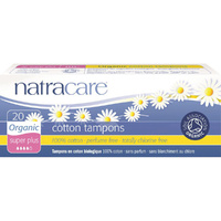 Natracare Organic Cotton Tampons Super Plus 20 Tampons