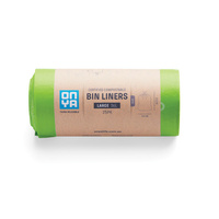 Onya Compostable Bin Liners Large 36L x 25pk