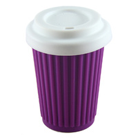 Onya Reusable Coffee Cup Purple 355ml