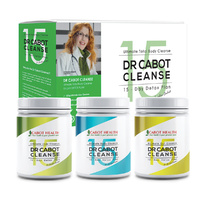 Cabot Health Dr Cabot Cleanse 15 Day Detox Pack