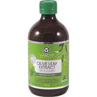 Vabori Olive Leaf Extract (Fresh Picked) Peppermint 500ml