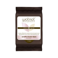 Wotnot Facial Wipes Sensitive (All Skin Types) x 5 Pack