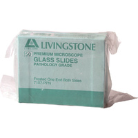 Livingstone Glass Slides Frosted x 50 Pack