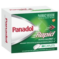 Panadol Rapid Pain Relief 80 Caplets