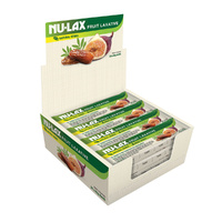 Nu-Lax Fruit Laxative Bar 40g [Bulk Buy 20 Units]