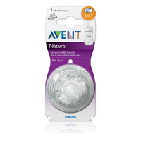 AVENT Natural Teats 6M+ Pack 2