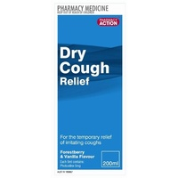 Pharmacy Action Dry Cough Relief 200ml