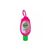 Dettol Hand Sanitiser Refresh with Clip Pink 50ml