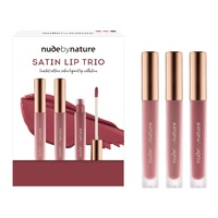 Nude By Nature Satin Lip Trio