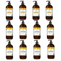 Country Life Orange and Ginger Antibacterial Hand Wash 500mL [Bulk Buy 12 Units]