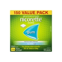 Nicorette Gum Icy Mint 4mg 150 Pieces
