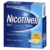 Nicotinell Step 2 Patch 14mg 24 Hours 28 Day Supply