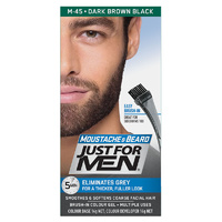 Just For Men Moustache And Beard Dark Brown Black
