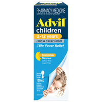 Advil Children's 2-12 Years 100mL