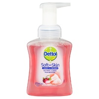 Dettol Foam Wash Rose Cherry Pump 250ml