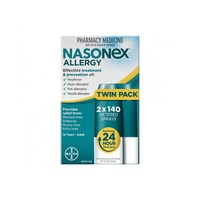 VALUE TWIN PACK - Nasonex Allergy Nasal 140 Sprays 24 hour