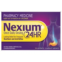 Nexium 24 Hour Enteric Coated Tablets 14