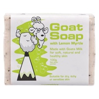 Goat Soap with Goats Milk and Lemon Myrtle 100g