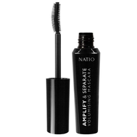 Natio Amplify & Separate Volumising Mascara - Black