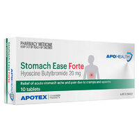 Apohealth Stomach Ease Forte Tab 20mg 10